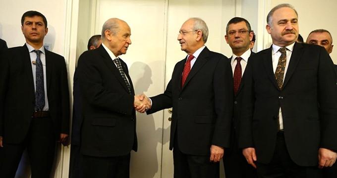 Kritik Kılıçdaroğlu - Bahçeli Görüşmesi Başladı! CHP Grup Başkanvekilleri Katılmadı