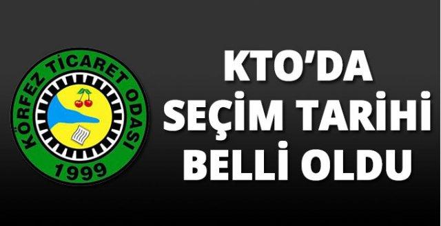 KTO'da seçim tarihi belli oldu