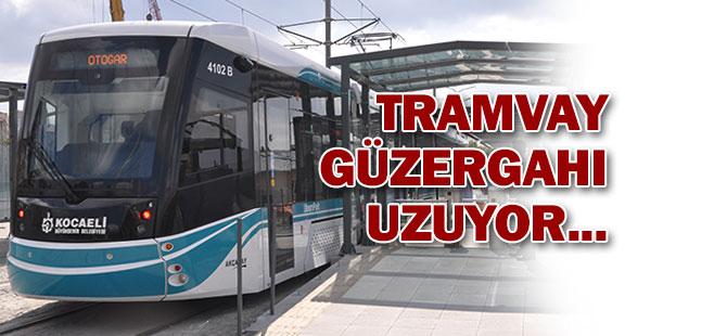TRAMVAY HATTI KURUÇEŞME'YE KADAR UZUYOR