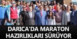 Darıca'da maraton hazırlıkları sürüyor