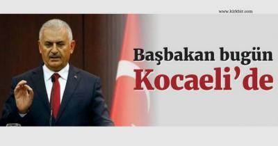 BAŞBAKAN BİNALİ YILDIRIM KOCAELİ'DE