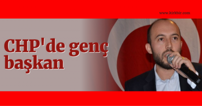 CHP KOCAELİ İL GENÇLİK ÖRGÜTÜ EMRE ANDIZ'A EMANET