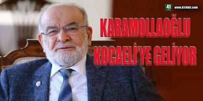 CUMHURBAŞKANI ADAYI KARAMOLLAOĞLU KOCAELİ'YE GELİYOR