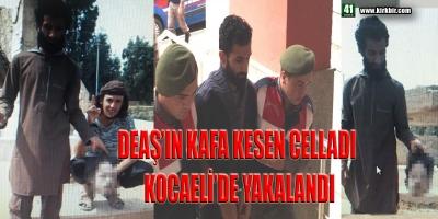 DEAŞ'IN KAFA KESEN CELLADI KOCAELİ'DE YAKALANDI