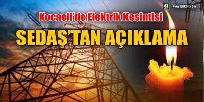 DİKKAT ! KOCAELİ'DE ELEKTRİKLER KESİLECEK