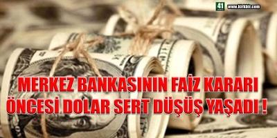 DÖVİZ FENA GERİLEDİ!