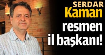 DR. SERDAR KAMAN RESMEN İYİ PARTİ İL BAŞKANI