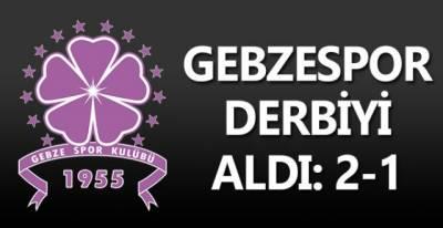 Gebzespor derbiyi aldı: 2-1