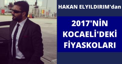 HAKAN ELYILDIRIM'dan '2017'NİN AKILDA KALAN FİYASKOLARI'