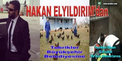HAKAN ELYILDIRIM'dan 'Tebrikler Büyükşehir Belediyesi Yazıklar Olsun O Avukat Ve İcra Memurlarına'