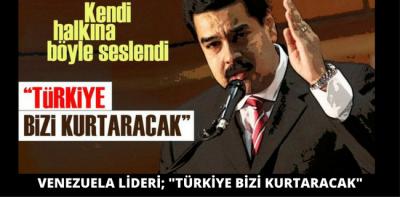 HALKINA BÖYLE SESLENDİ; 'TÜRKİYE BİZİ KURTARACAK'