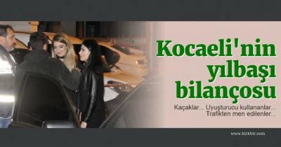 İŞTE KOCAELİ'NİN YILBAŞI BİLANÇOSU