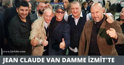 JEAN CLAUDE VAN DAMME İZMİT'TE!
