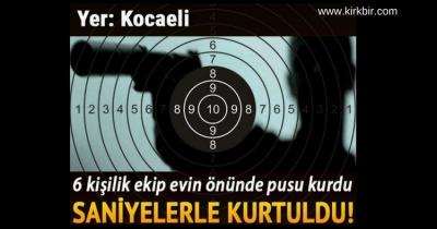 KANDIRA CEZAEVİ MÜDÜRÜNE SUİKAST SON ANDA ÖNLENDİ!