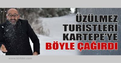 KARTEPE BELEDİYE BAŞKANI HERKESİ KARTOPU OYNAMAYA DAVET ETTİ!