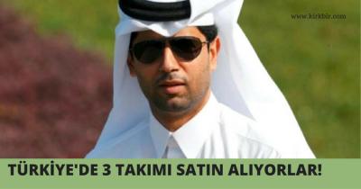 KATAR'LILAR TÜRKİYE'DE ÖNCE 3 KULÜBÜ SATIN ALIYOR SONRA 4 BÜYÜKLERİ!