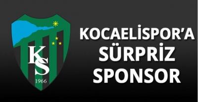 Kocaelispor'a süpriz sponsor