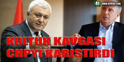 KOLTUK KAVGASI CHP'Yİ KARIŞTIRDI
