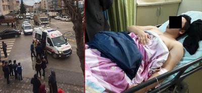 Körfez'de ortaokul öğrencisi bacağından bıçaklandı