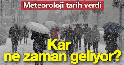 METEOROLOJİ MÜDÜRLÜĞÜ UYARDI, KOCAELİ'YE KAR NE ZAMAN GELİYOR!