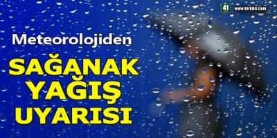 SAĞANAK YAĞIŞ GERİ GELİYOR, SALI VE PERŞEMBEYE DİKKAT!
