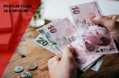 ŞUBAT'TA FİYATLAR YÜZDE 10,6 ARTIYOR. HAPI ZAMLI YUTTUK!