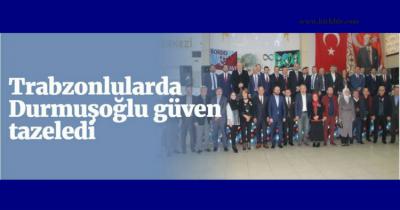 TRABZON'LULAR DERNEĞİ'NDE SAMİ DURMUŞOĞLU BİR DÖNEM DAHA BAŞKAN