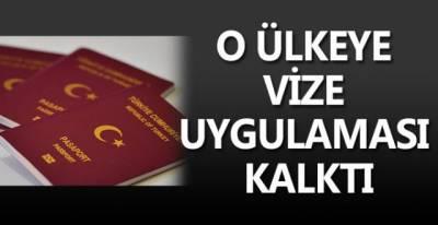 Türkiye ve Irak devleti arasında  vize uygulaması kalktı