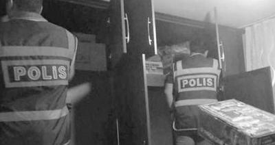 BASKIN İÇİN GİTTİĞİ EVDE HIRSIZLIK YAPAN POLİS HAKKINDA KARAR VERİLDİ