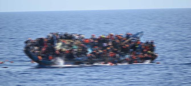 Akdeniz'de büyük facia: 340 kişi kayıp!!!