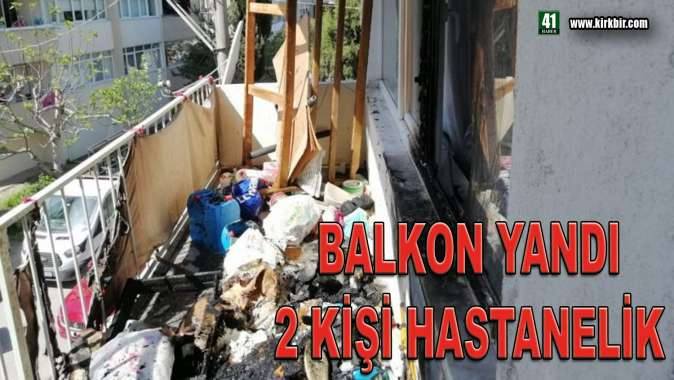 BALKON YANDI 2 KİŞİ HASTANELİK