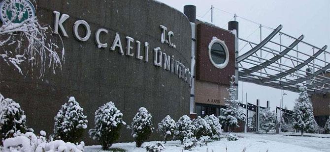Eğitime bir günlük kar engeli!