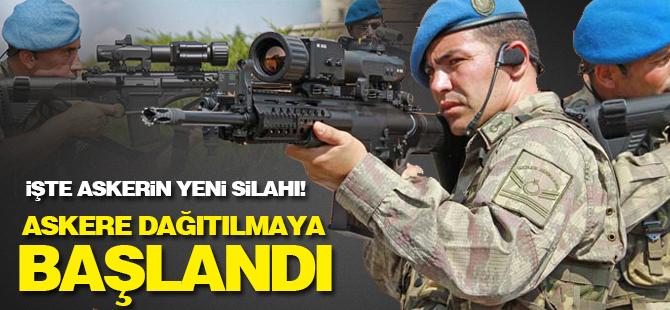 İşte askerin yeni milli tüfeği... Dakikada 700 mermi atıyor!