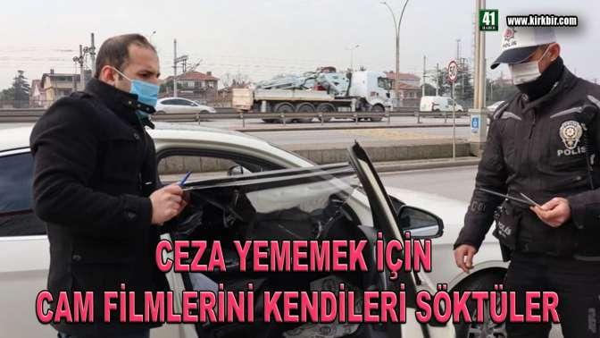 POLİS UYGULAMASINDA CEZA YEMEMEK İÇİN...