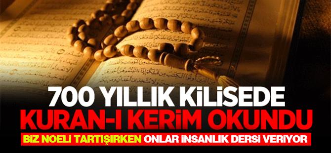 700 yıllık Lorenz Kilisesi'nde Kuran-ı Kerim okundu