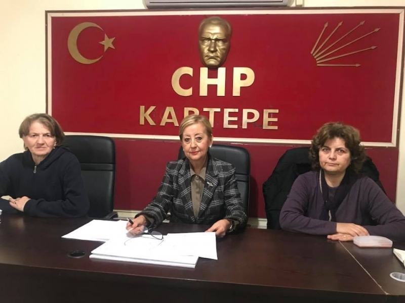 CHP Kartepe'de başkan değişti