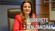 HÜRRİYET'E 2 YENİ DANIŞMAN