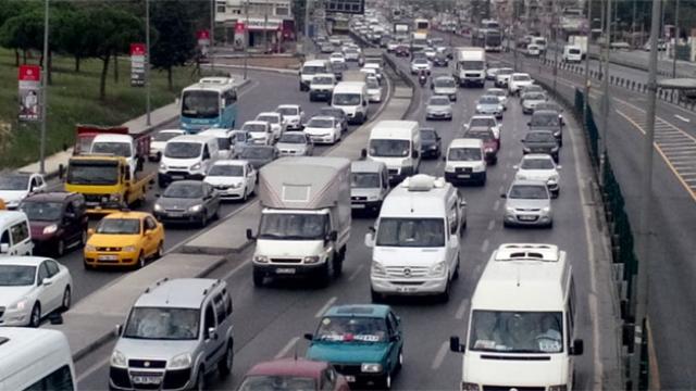 Kocaeli'de Trafikteki Araç Sayısı 350 Bini Aştı