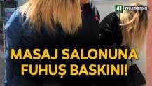 MASAJ SALONUNA FUHUŞ BASKINI