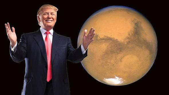 TRUMP'TAN MARS ONAYI